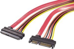 kabel komputerowy SATA z zasilaniem